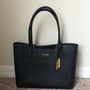 Calvin Klein leather purse